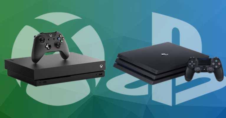 PlayStation 4 Pro czy Xbox One X